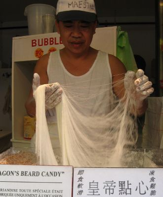 dragon beard candy montreal johnny chin