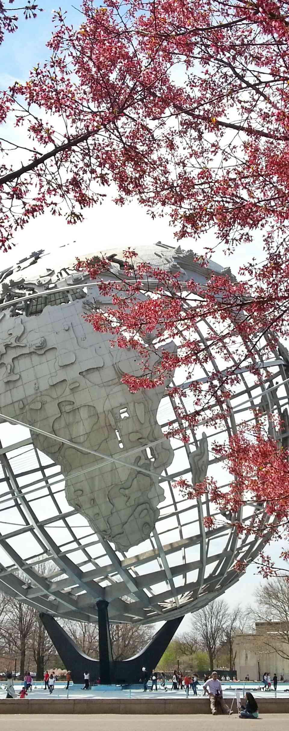 Unisphere Globe in Queens, New York