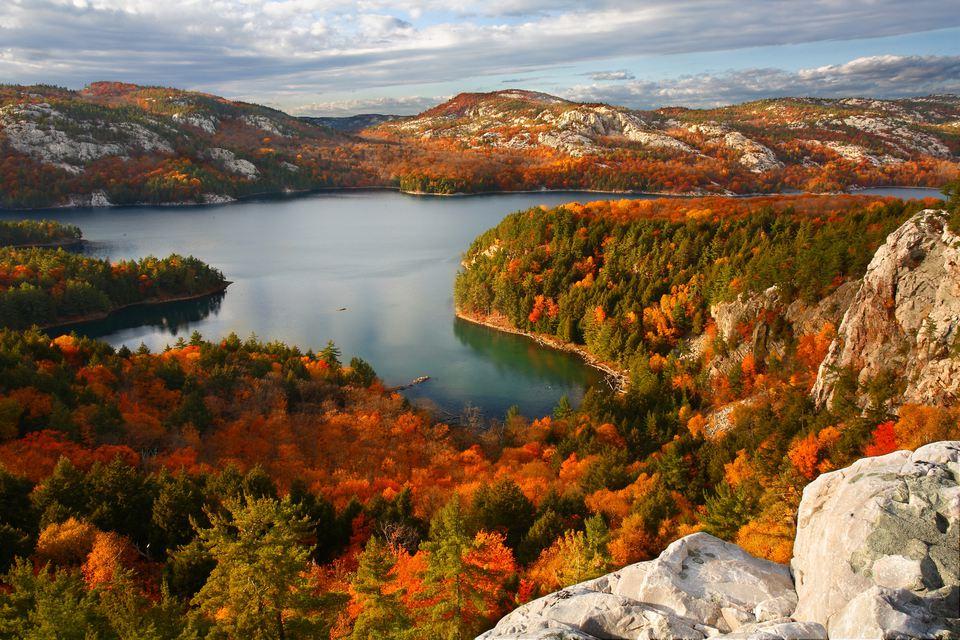Killarney Lake in Fall