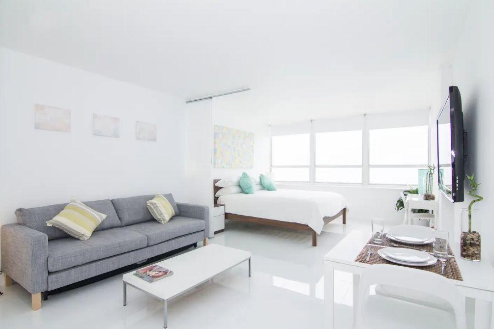 Miami Beachfront Apartment