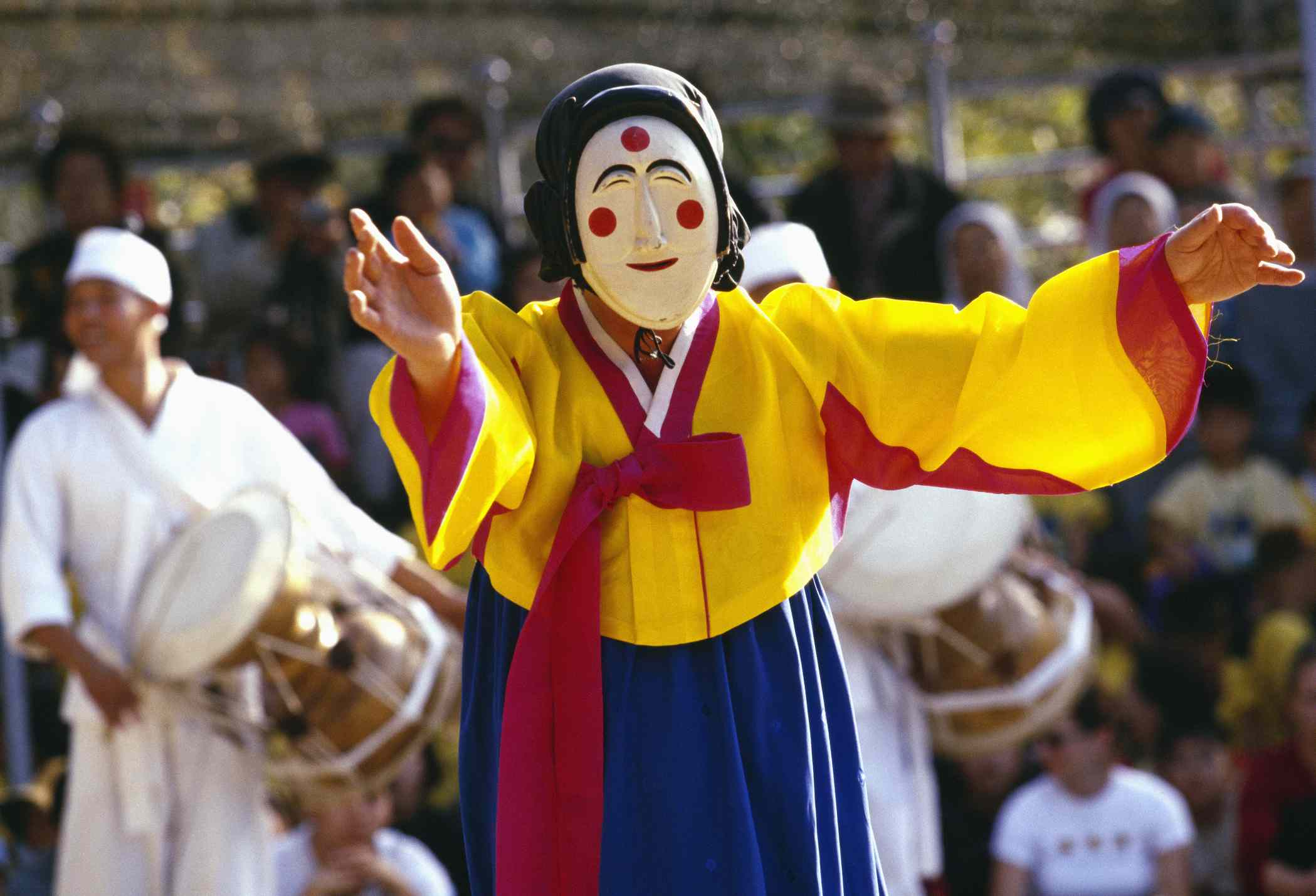 Pune T'al Character in Andong Mask Dance Festival