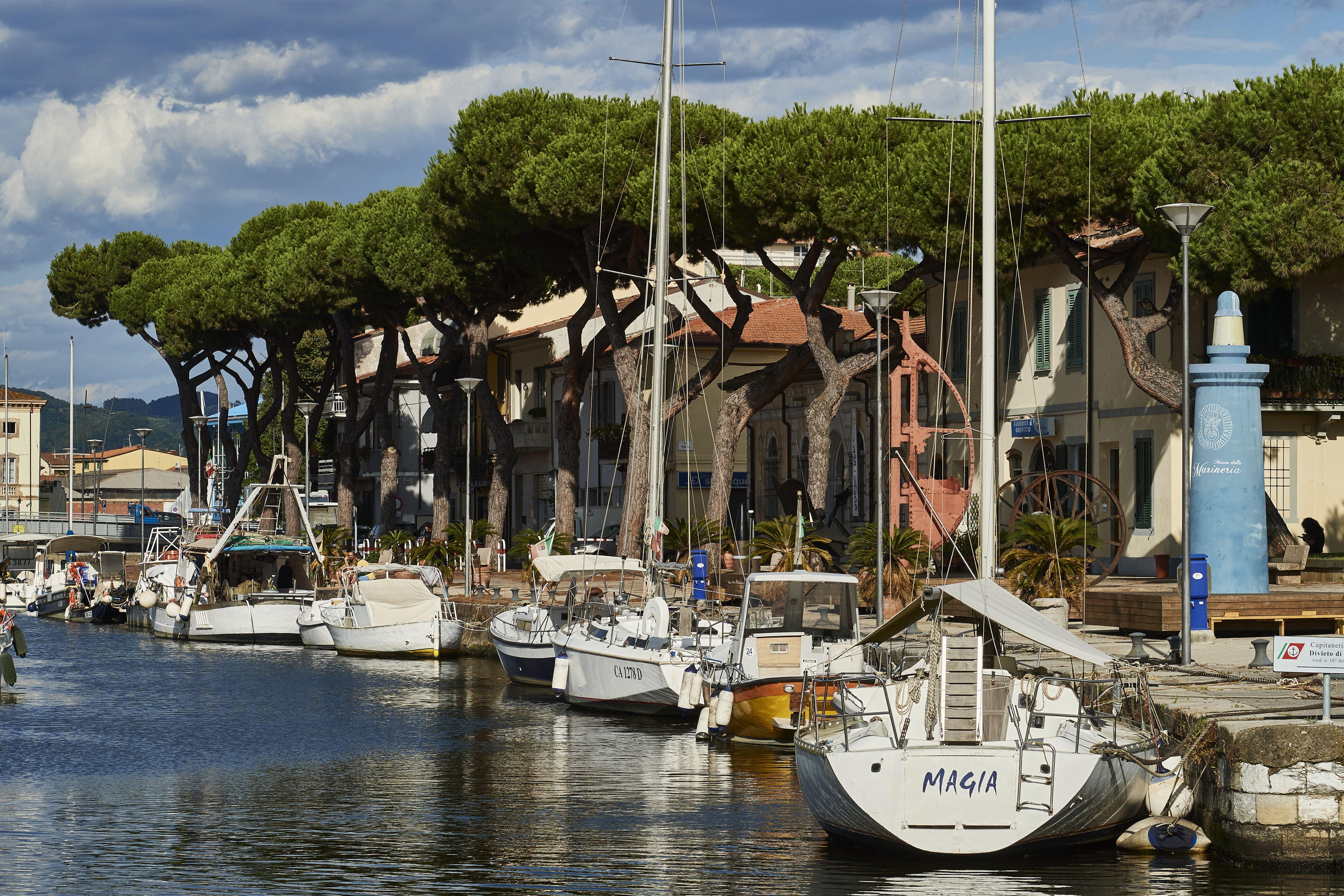 Port of Viareggio, Tuscany, Italy