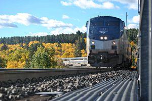 Empire Builder Amtrak Train