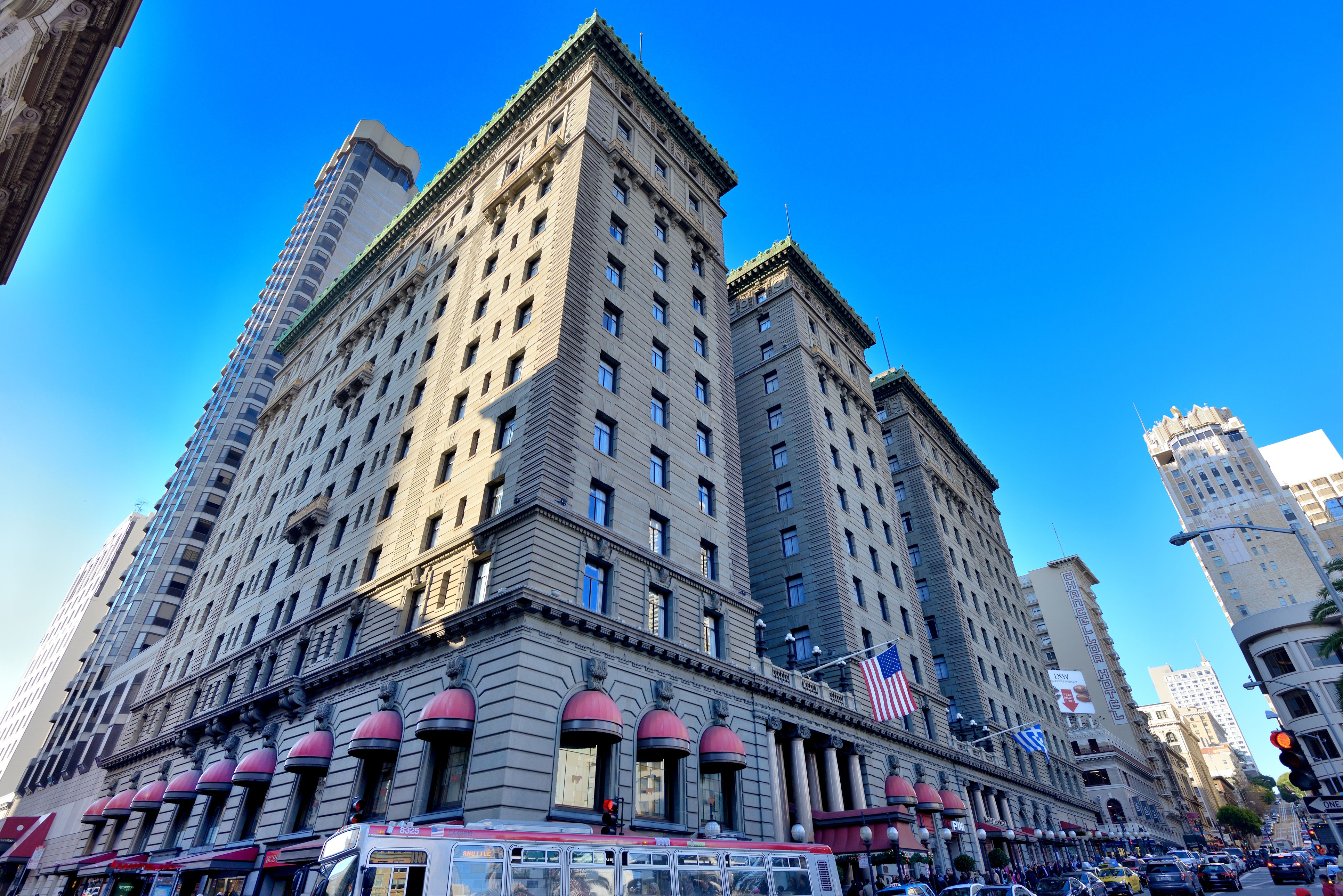 San Francisco, st Francis Hotel at union square