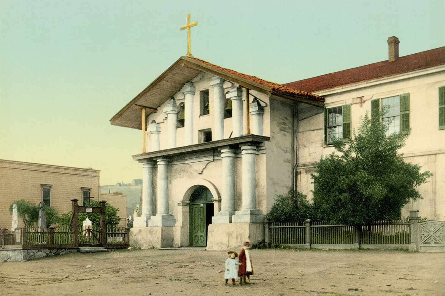 Mission San Francisco in 1895