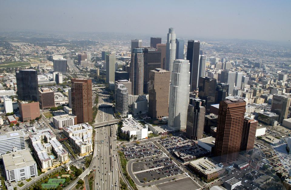 Aerials of Los Angeles