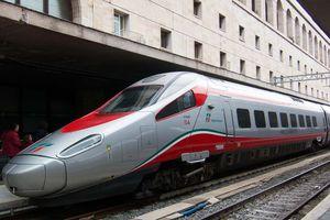 Freccia train in Italy