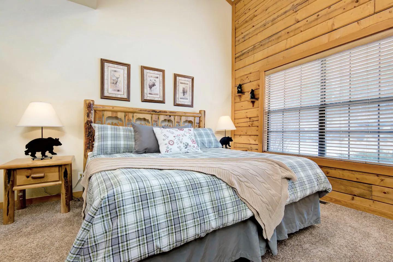 Cabaña de dos dormitorios en Branson central