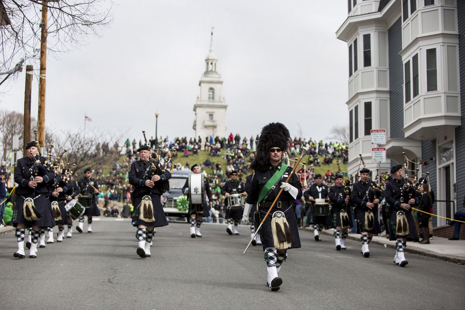 Boston Hosts Annual St. Patrick's Day Parade