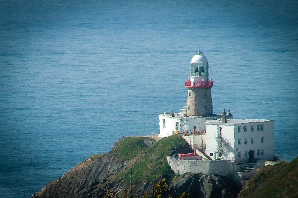Baily Lighthouse - one of Howth's landmarks, guarding the entrance to Dublin Bay