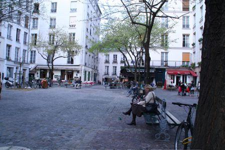 The Marché Sainte Catherine Square in the Marais is one of the quarter's most charming spots.