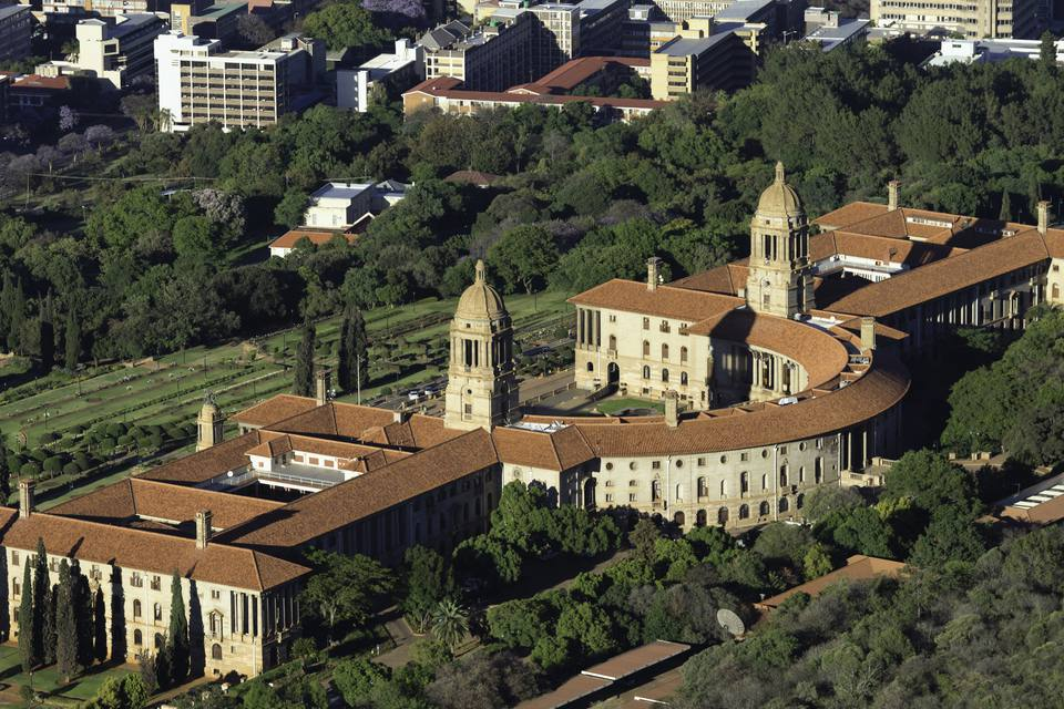 Alphabetical List of African Capital Cities Pretoria Union Buildings South Africa