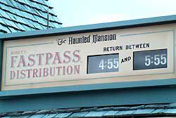 Disneyland Disney World Fastpass photo
