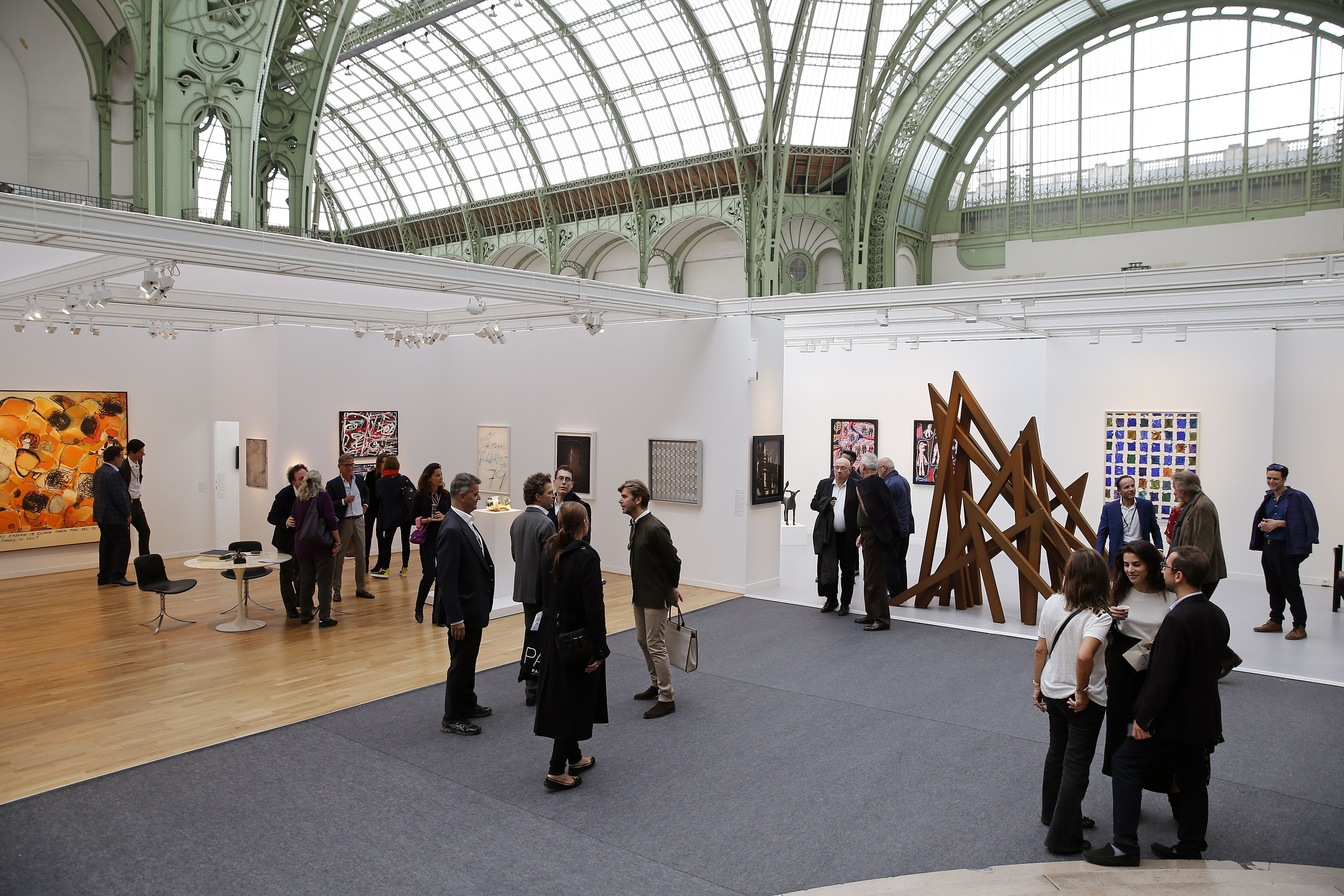 The Grand Palais is one of the outstanding structures from the Belle Epoque era in Paris.