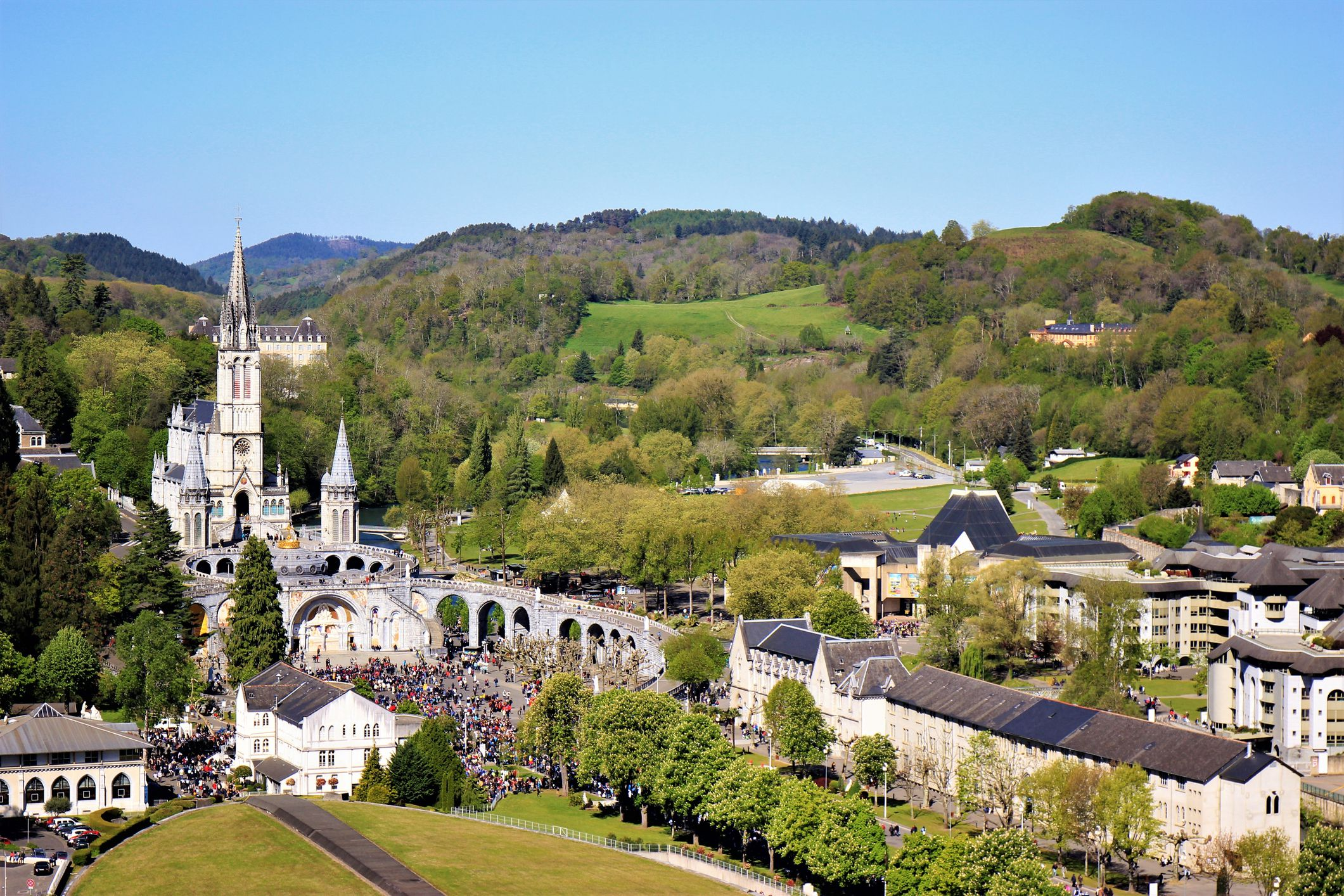 Lourdes In The Pyrenees The Great Religious Centre For