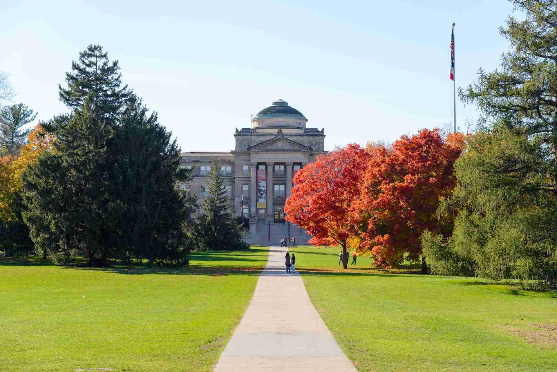 Fall foliage on Iowa State University Campus
