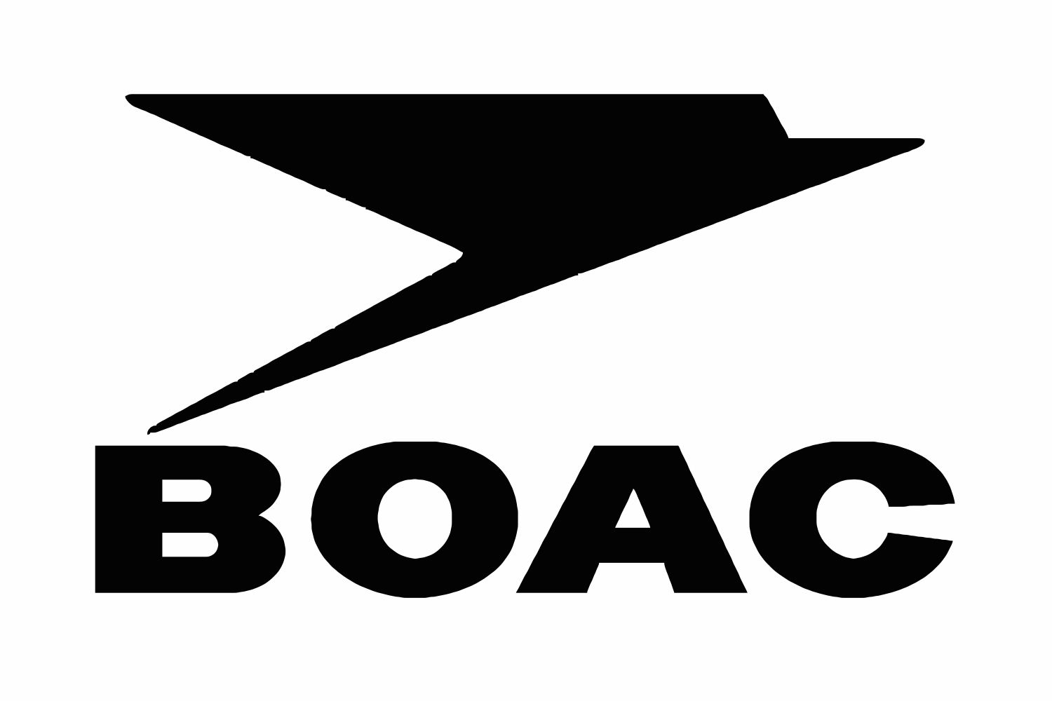 Image result for British Overseas Air Corporation (BOAC) logo