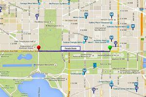 Memorial Day Parade Route