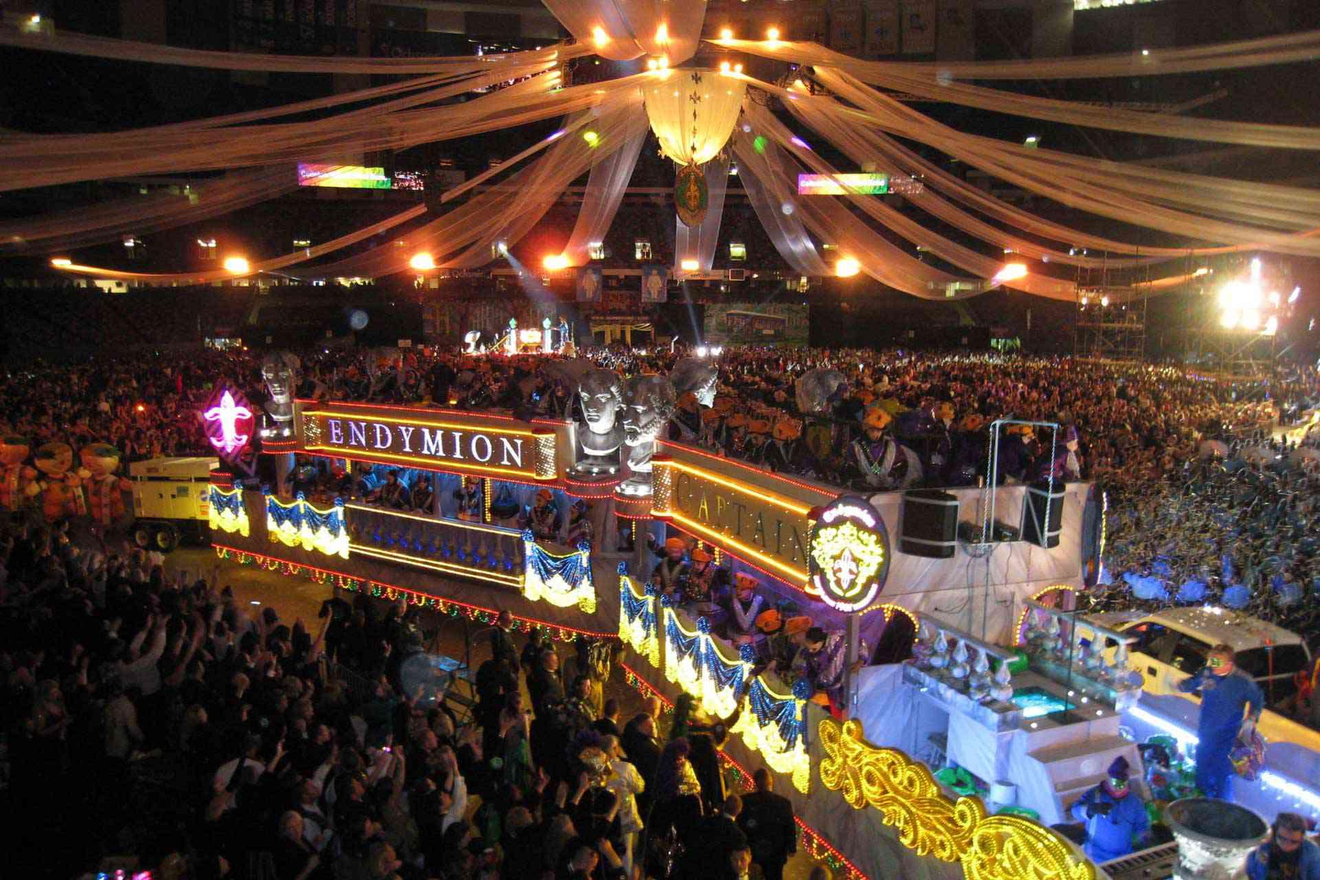 Endymion parade float