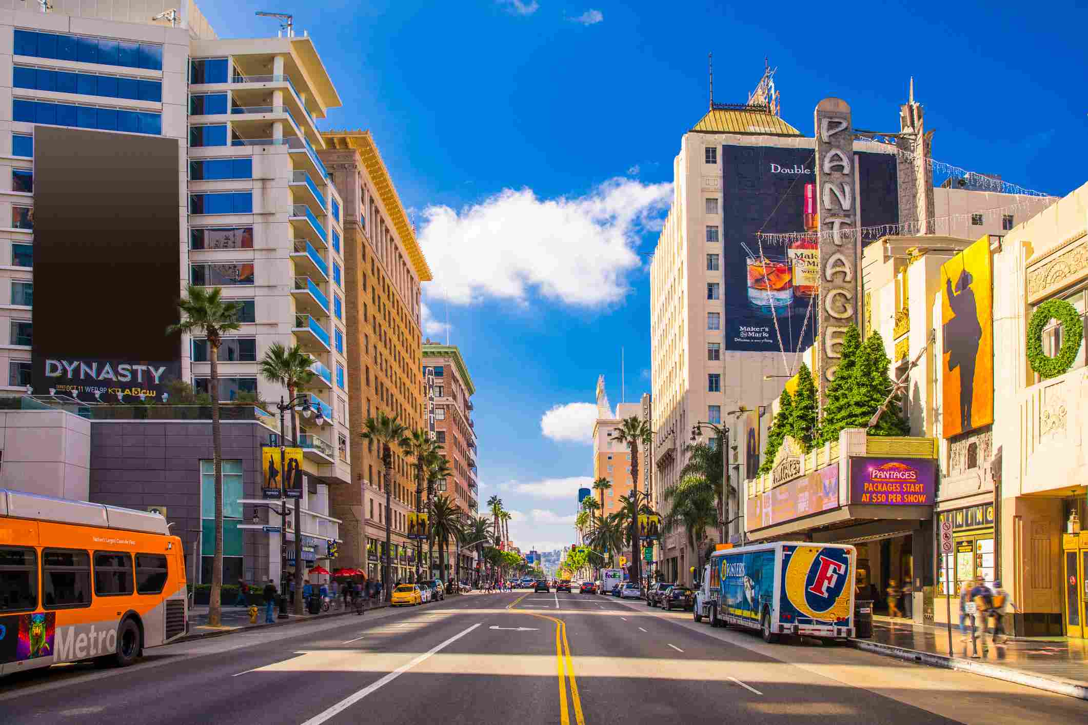 Sunset Boulevard - Hollywood in Los Angeles