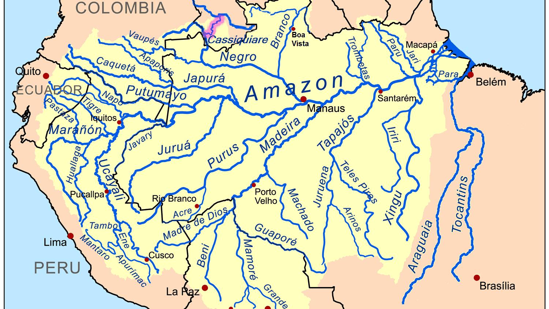 The 10 Longest Rivers In Peru