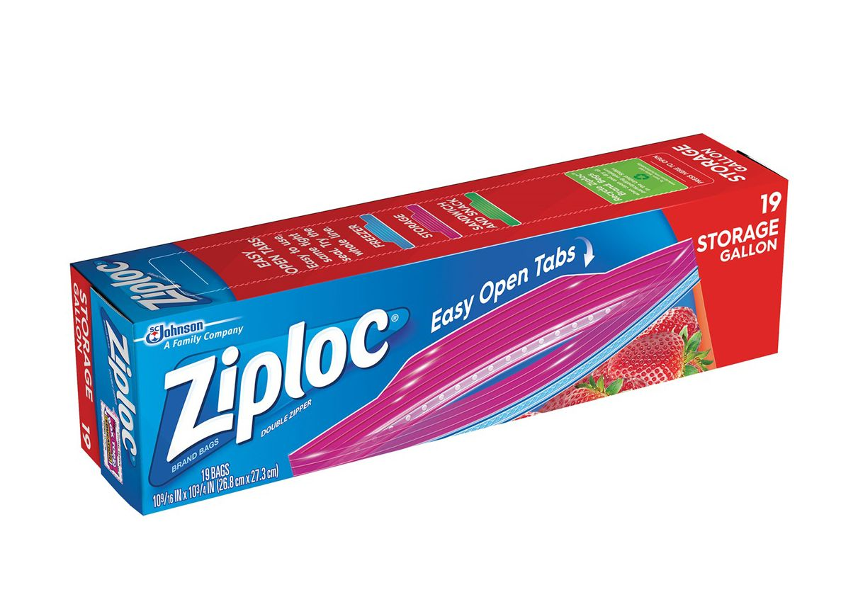 Ziploc gallon bags