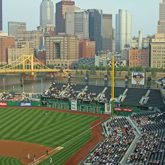 Right field view at PNC Park