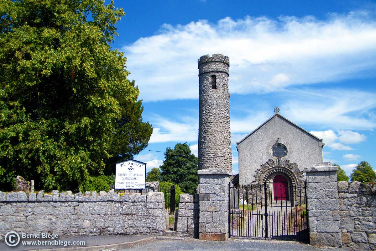 The Round Tower of Castledermot.