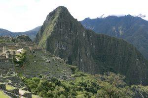Machu Picchu - Lost City of the Incas in Peru