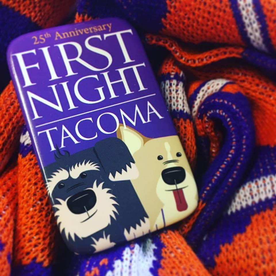 Botón para la primera noche en el condado de Tacoma Pierce