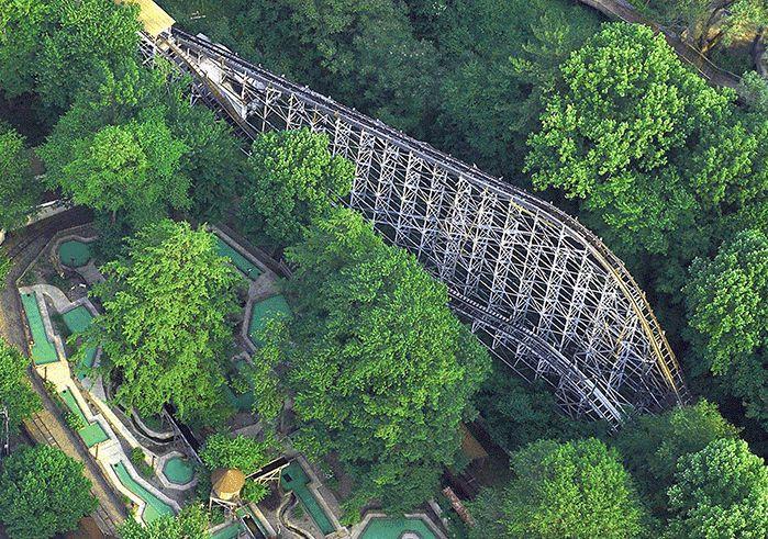 Conneaut Lake Park coaster
