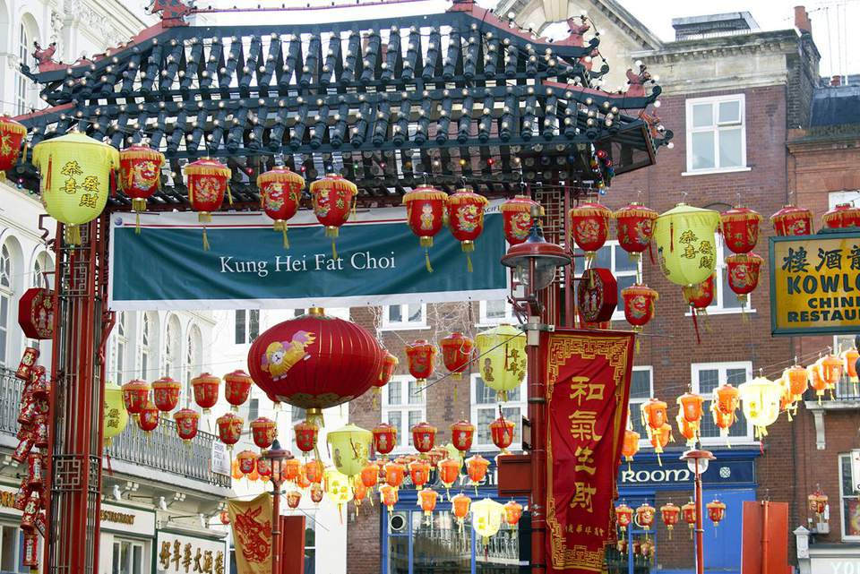 Chinese Decorations Chinatown London