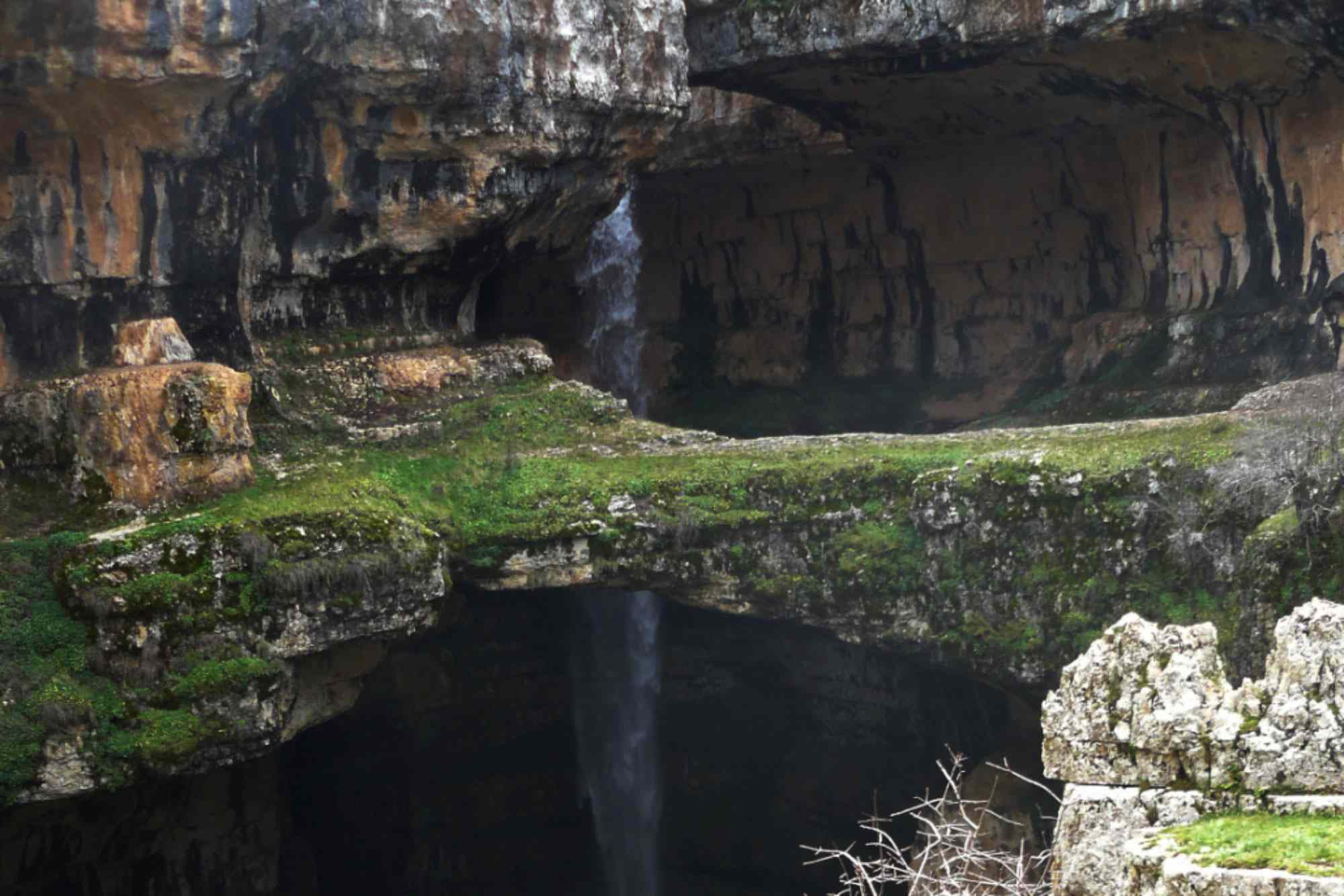 Baatara Gorge Falls, Lebanon