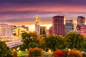 Hartford CT in the Fall