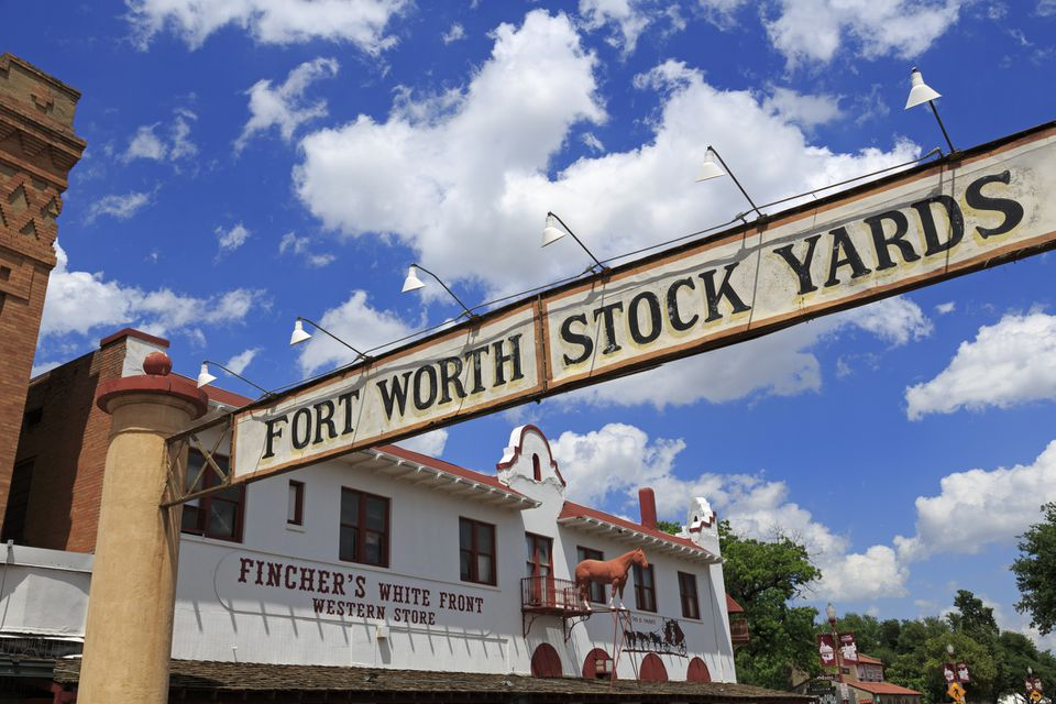 Gateway, Stockyards District, Fort Worth