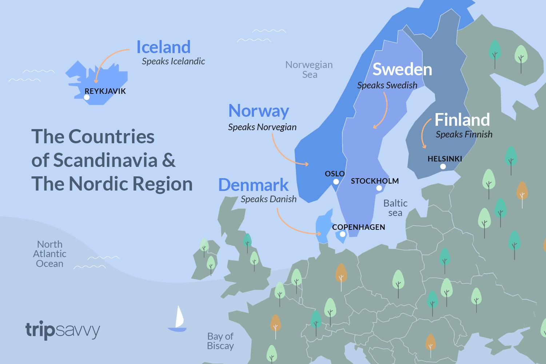 scandinavia or nordic countries