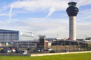 Control tower at Manchester Airport