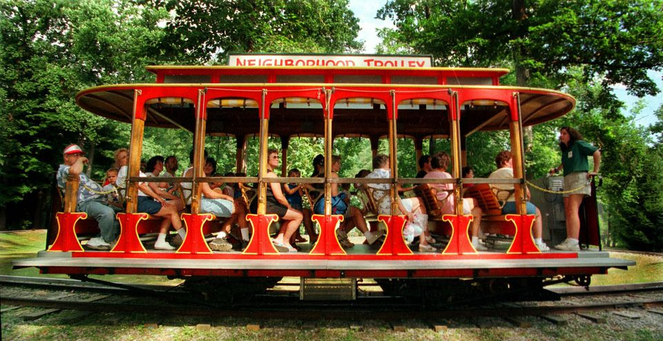The Mr. Rogers Trolley at Idlewild