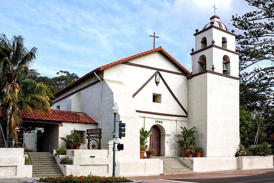 Mission San Buenaventura in Ventura, California