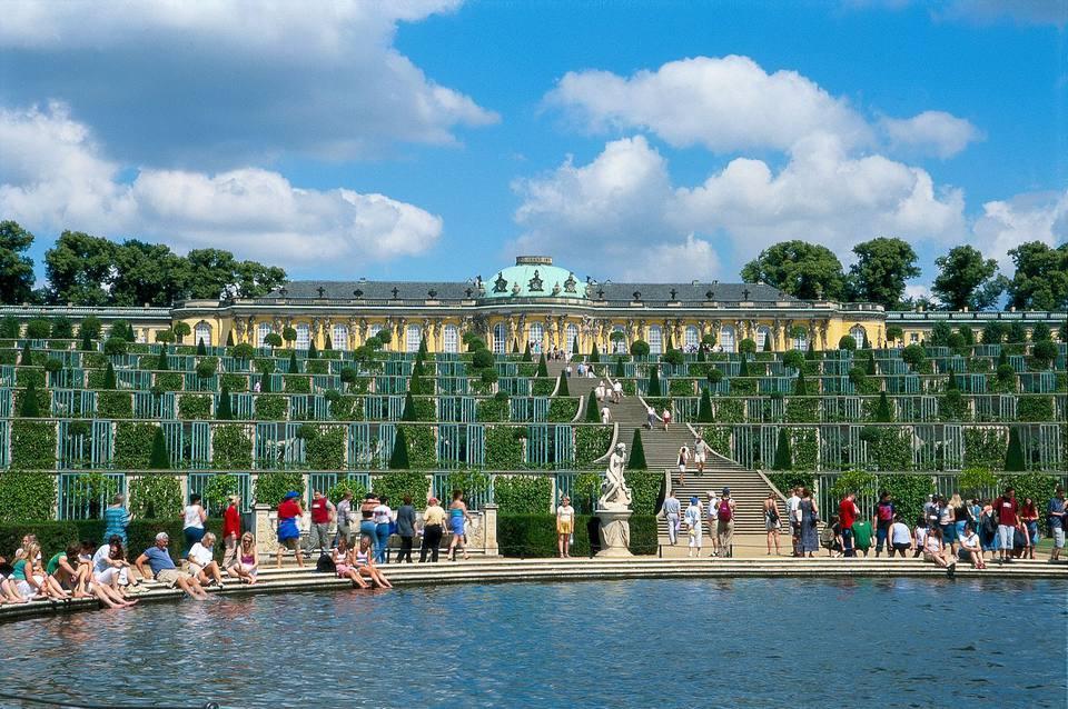 Sanssoucis Palace Gardens Potsdam
