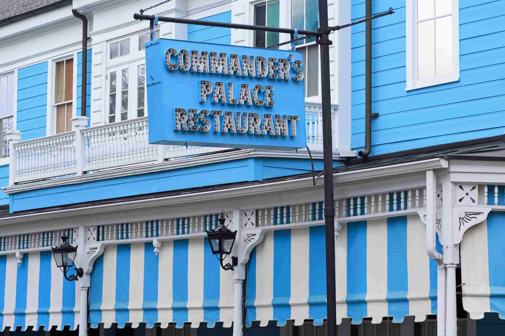 Restaurante del Commander's Palace, Garden District