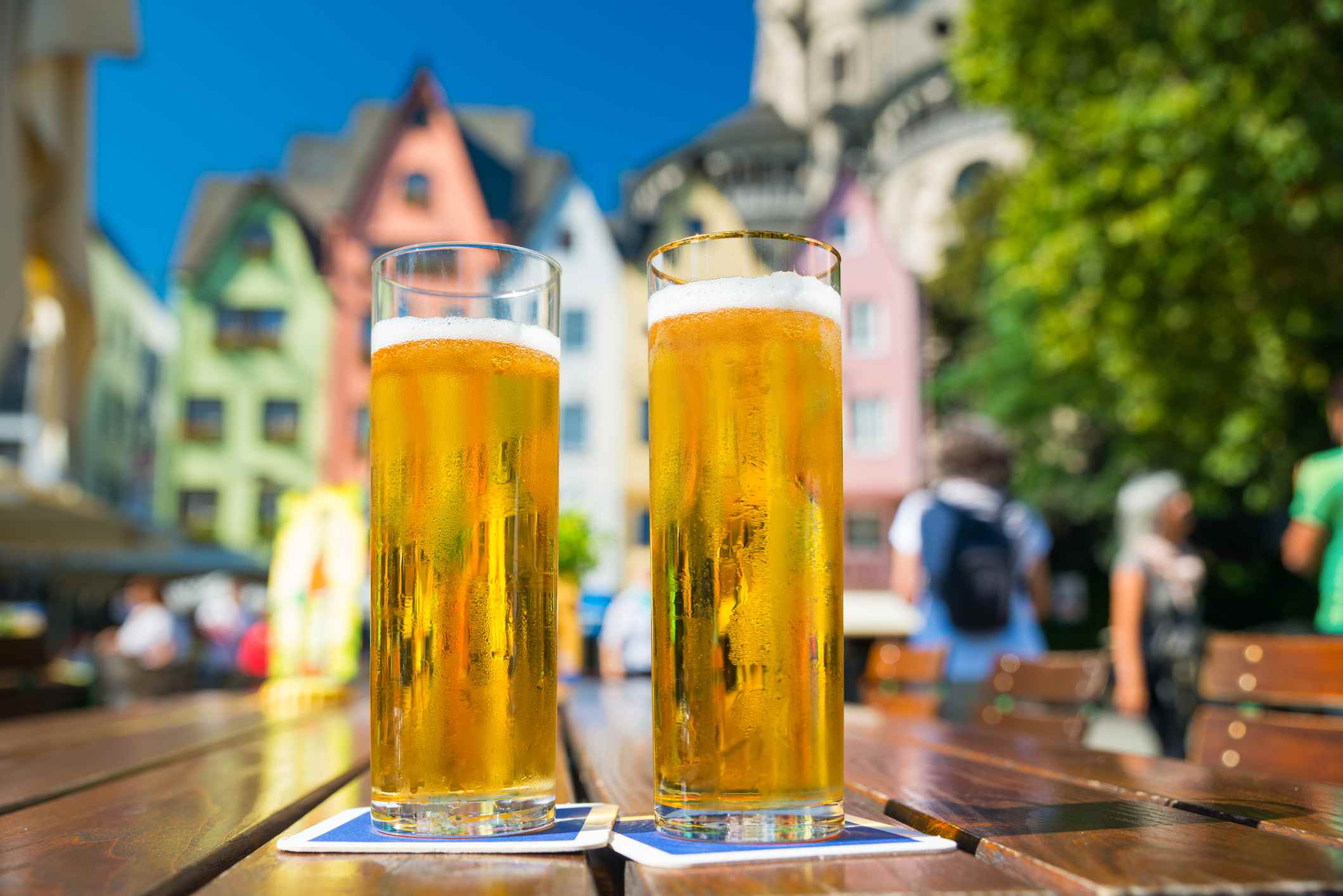 German Kölsch Beer in Cologne