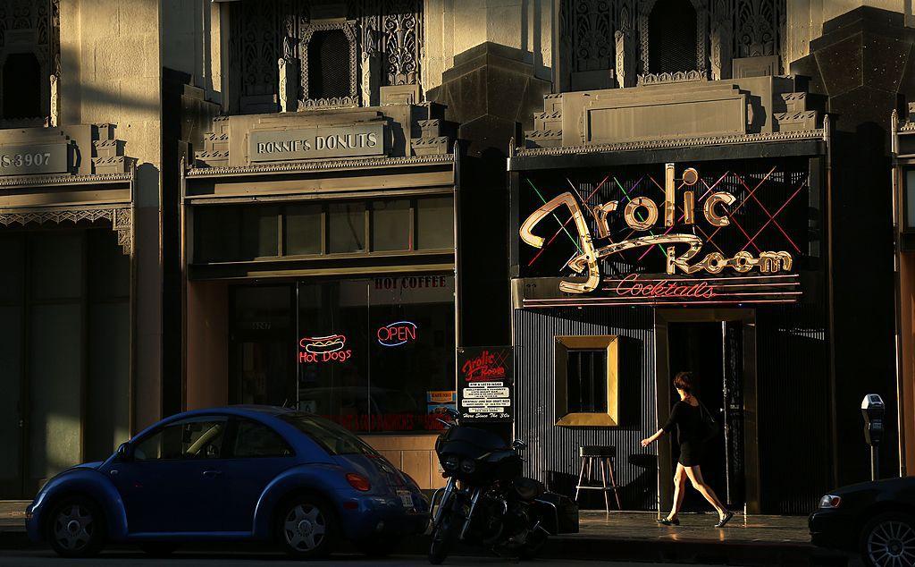 Frolic Room bar