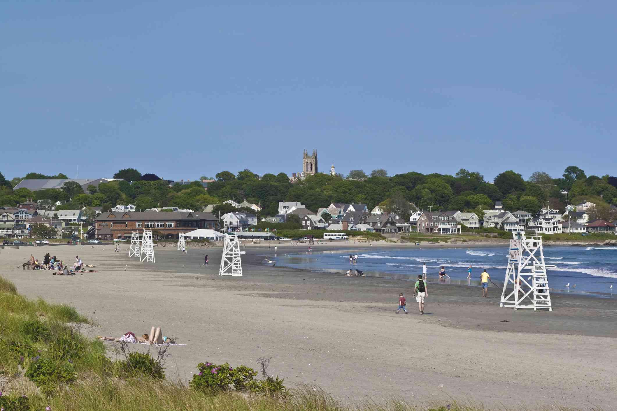 Best Beaches Near Newport Rhode Island
