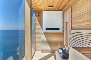 sauna on Viking Cruise ship