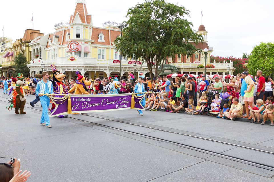 Parade at Walt Disney World Magic Kingdom