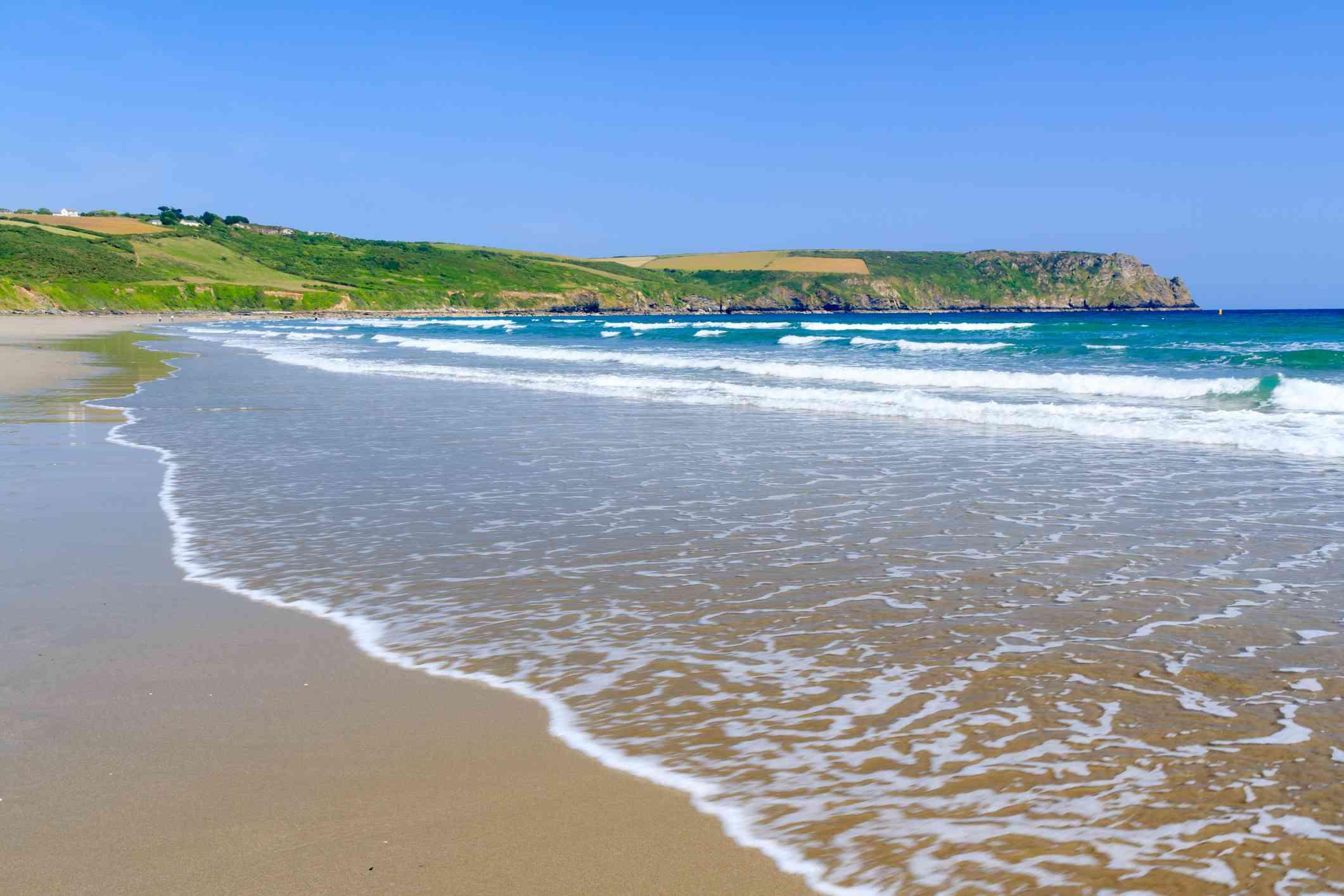 Pendower Beach, Cornwall