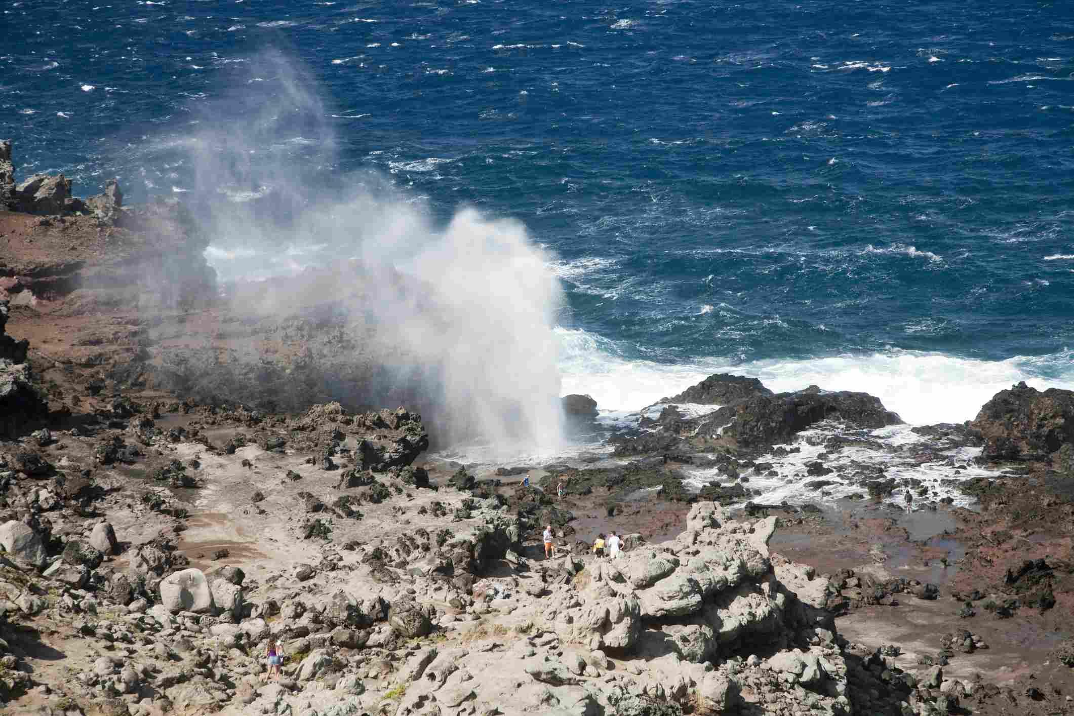 Nakalele Blowhole in Maui.