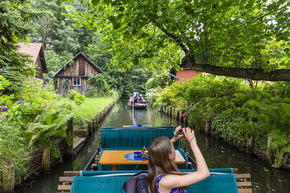Canals in the Spreewald