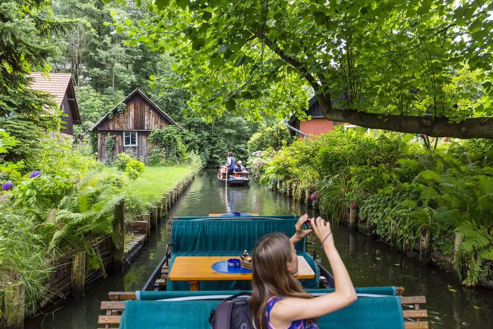 Canales en el Spreewald